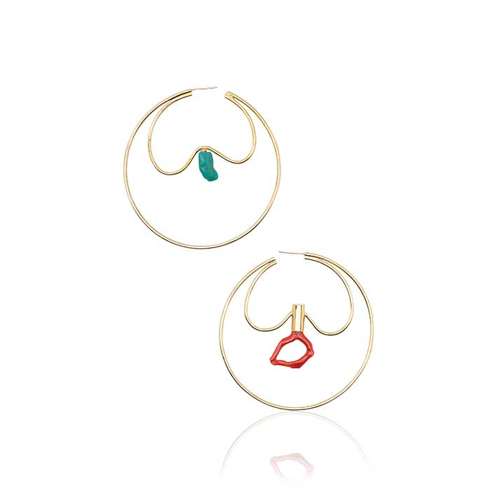 LIBERTY MONO EARRINGS