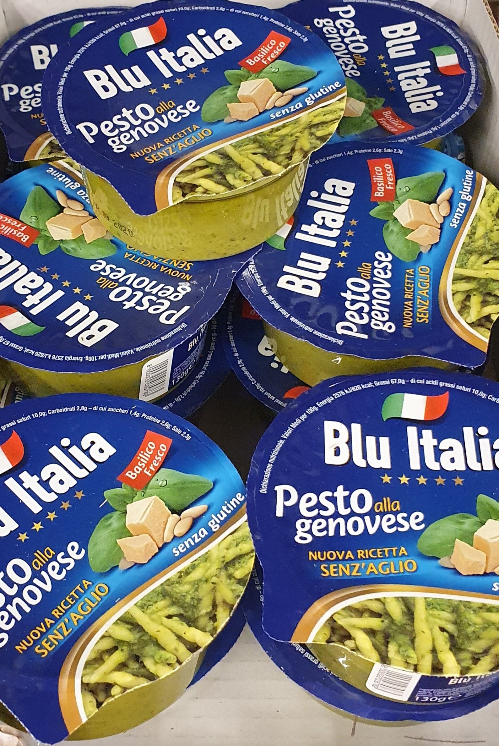 "Pesto Genovese 130gr (4.58oz) ""Imported from Italy"""