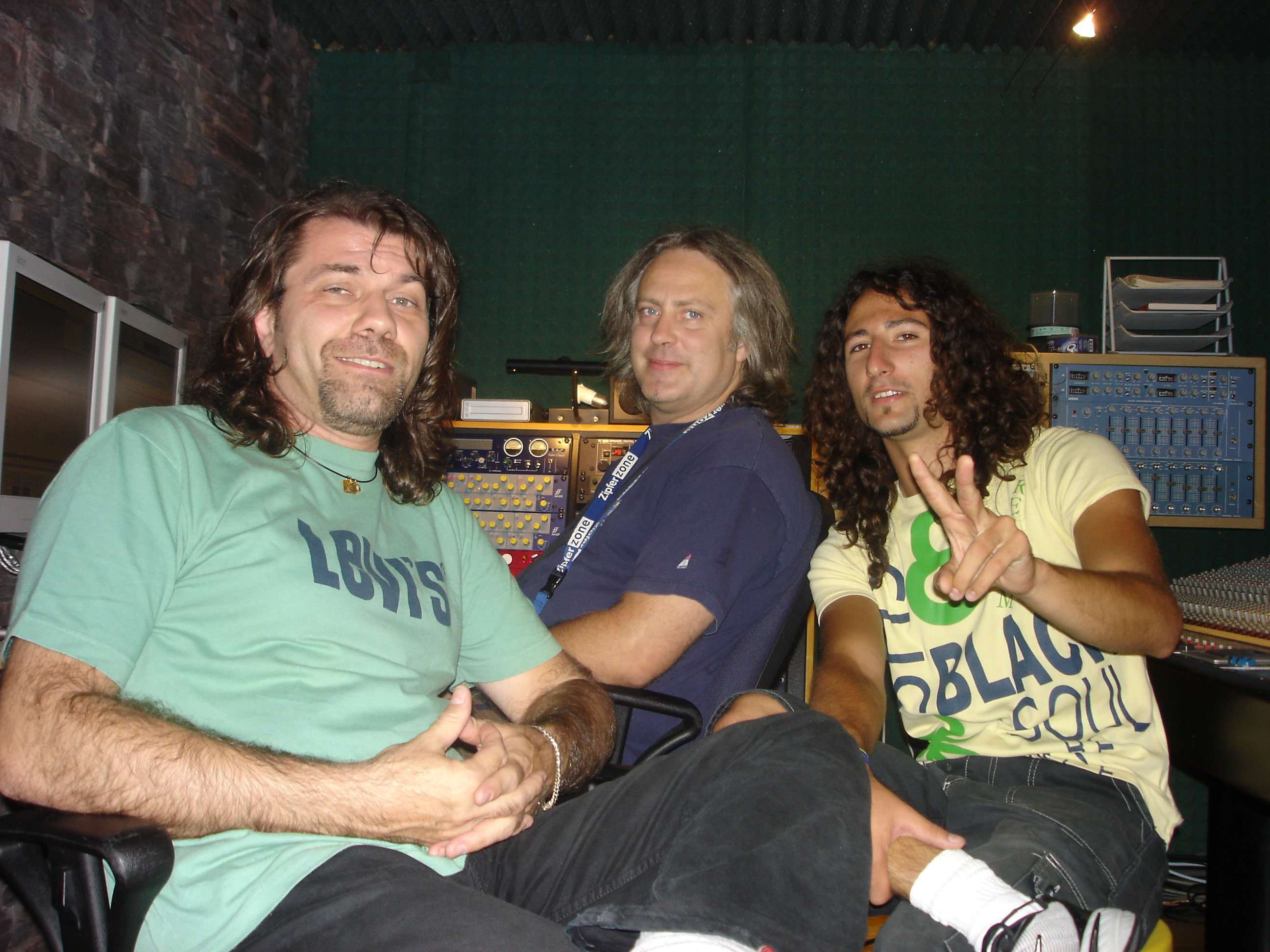 at Drumcode Studio Sesta Godano (SP)  , during the session of the Paul Moss Album 2006