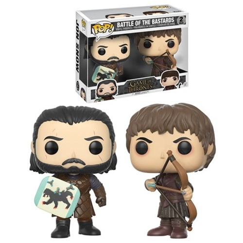 FUNKO POP BATTLE OF BASTARDS PACK 2 GAME OF THRONES
