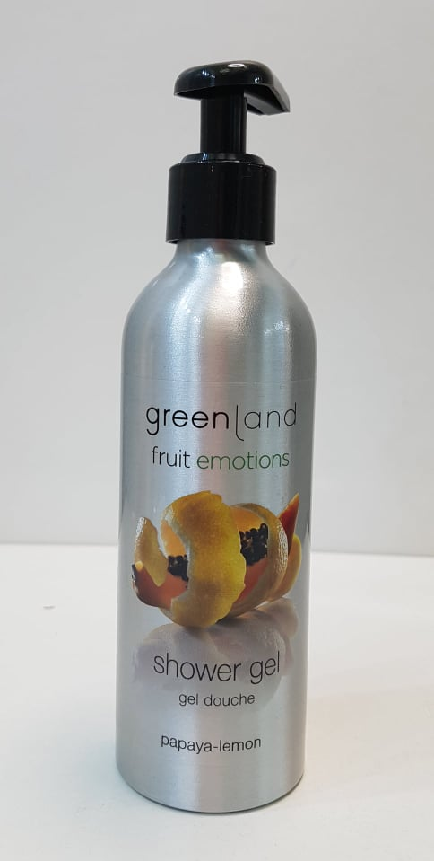 gel doccia green land fruit emotion 200ml papaya-lemon