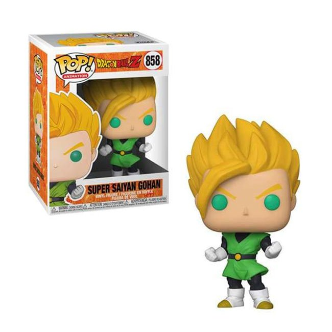 FUNKO POP SUPER SAIYAN GOHAN #858 DRAGON BALL ANIMATION