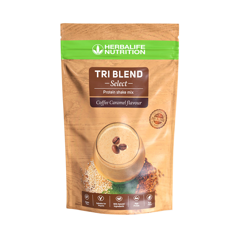 Tri Blend Select - Preparato Proteico Solubile in Acqua Coffee Caramel