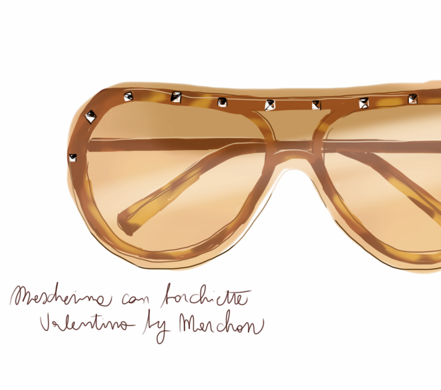 Sunglasses - Open Toe Illustration by Silvana Mariani