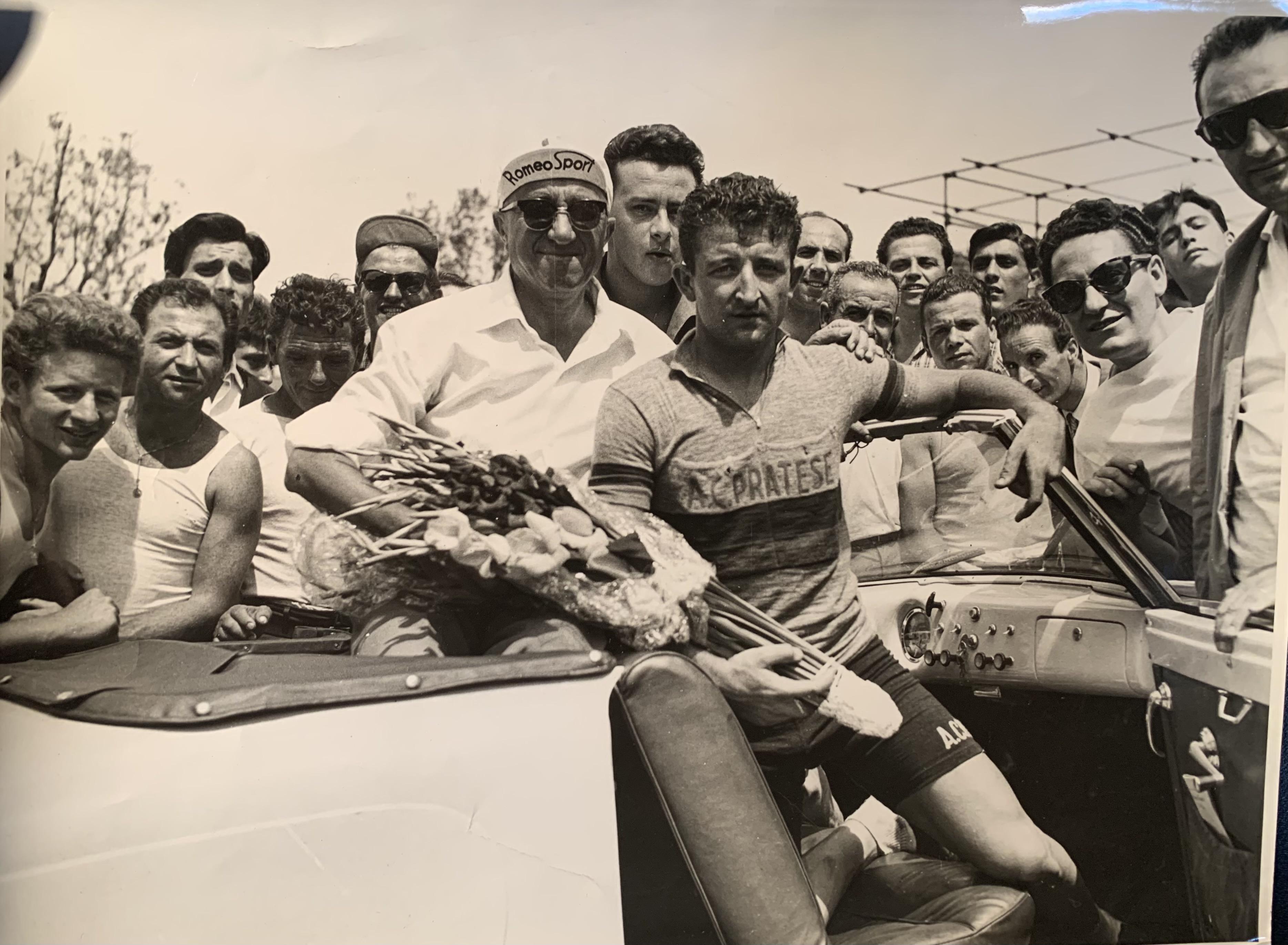 Alberto Di Rocco con capello Romeo Sportjpg
