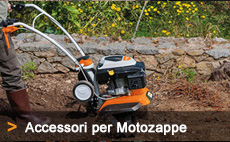 accessori per le motozappe viking